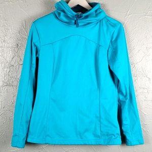 DECATHLON Turquoise Blue Pullover Sweatshirt